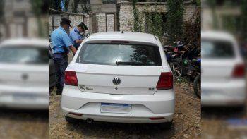 El auto en el que circulaban los hombres, que quedó secuestrado, tenía una agenda con datos de la mujer.