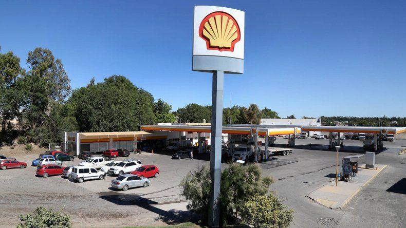 La estación de servicio Shell está ubicada en la Ruta Provincial 7
