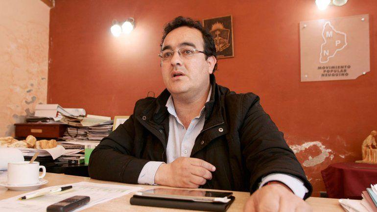 Darío Díaz, intendente de Añelo, habló de la demanda habitacional.
