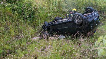 Un gendarme murió tras un vuelco sobre la Ruta 40