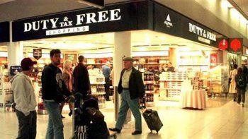 Elevan el monto para comprar en free shops