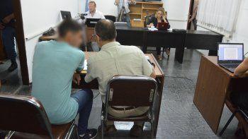 Por pedido del defensor, al restar una rueda de reconocimiento, no se pudo tomar imágenes de Newen Rodríguez.