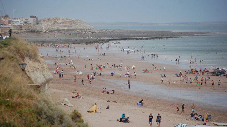 Mirá en vivo cómo está la playa en Las Grutas