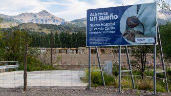 Las obras del nuevo hospital de San Martín de los Andes comenzaron en octubre.
