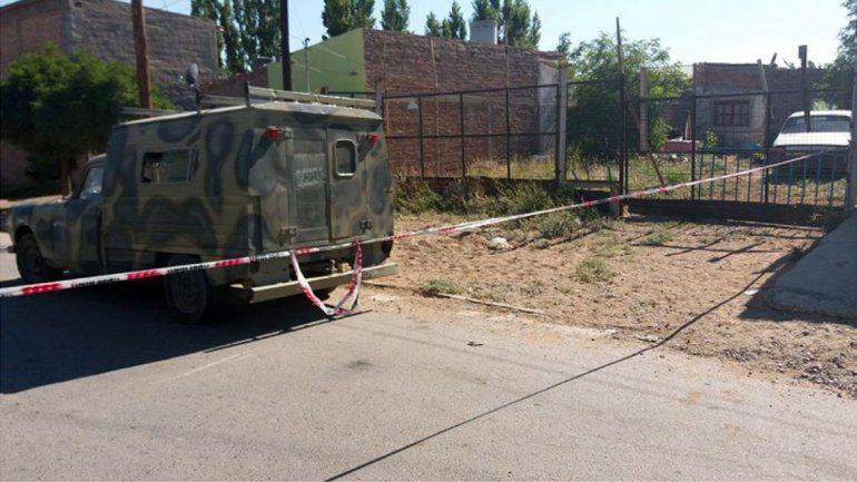 El femicidio de Lorena Carrasco ocurrió en una casa de calle Neuquén del barrio Progreso de Cutral Co.
