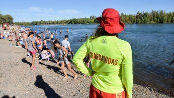 Además, hubo 46 rescates en los distintos balnearios el domingo.