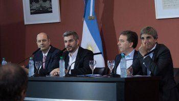 Se corren los pronósticos. El equipo económico del gobierno de Macri tuvo diferencias con Sturzenegger.