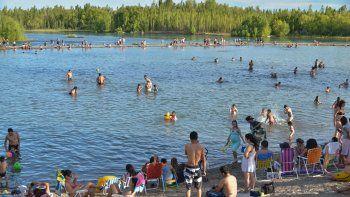 mas de 85 mil personas fueron al rio este fin de semana