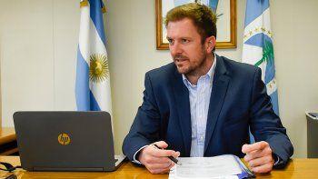 El ministro de Producción e Industria, Facundo López Raggi.