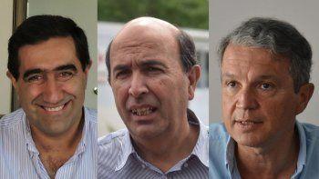 Artaza, Bermúdez y Monzani, los tres quieren ir por la intendencia. Desde el gobierno nacional fijan preferencias.