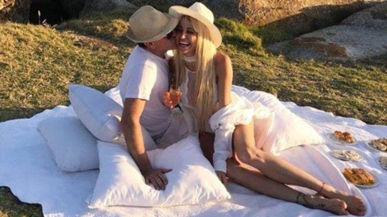 La Griega y su novio Javier planean casarse este año. Pese al mal trago mantienen la esperanza de tener hijos