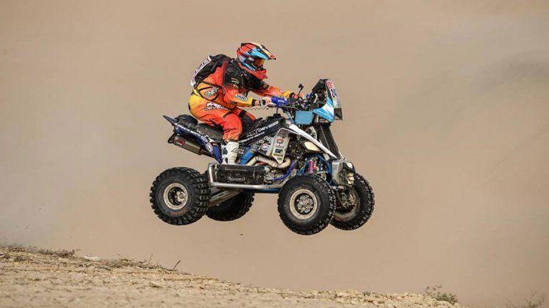 Copetti tuvo una etapa complicada y debió abandonar en el Dakar