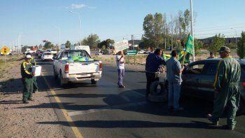 trabajadores de mam realizan una volanteada en ruta 7