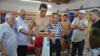 el rayo confiado para su primera defensa del titulo sudamericano