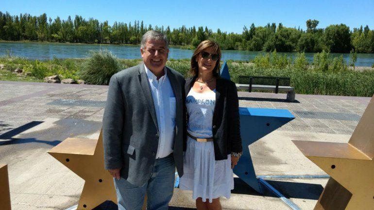 Alejandro Nicola y María Laura Vilche