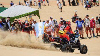 Expectativas del piloto neuquino para lo que queda del Dakar.