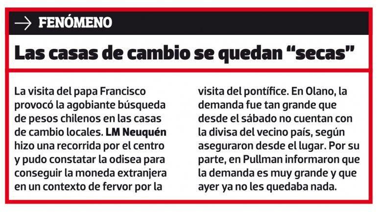 Pasarán 300 mil personas por Neuquén para ir a Chile
