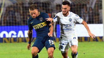 Boca cayó en Mendoza ante Godoy Cruz