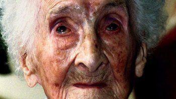 Jean Calment fue la persona más longeva: vivió hasta los 122 años.