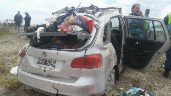 Los ocupantes de la Suran sufrieron lesiones leves