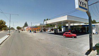 El asalto ocurrió en la estación de Avenida San Martín y Toribio Otaño.