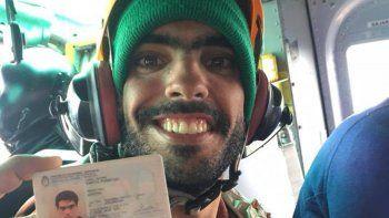 video inedito: asi fue el operativo de rescate de joaquin en bariloche
