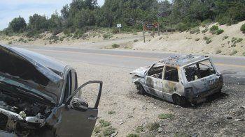 El fatal choque frontal ocurrió en la Ruta Provincial 13 en Villa Pehuenia.