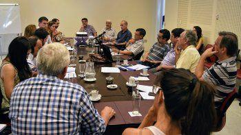 legislatura: primera reunion oficial para comenzar a sanear los rios