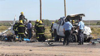 tres muertos en un choque frontal en la ruta 7