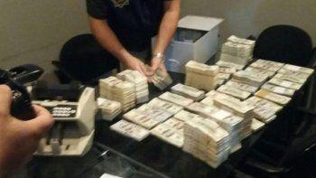 El dinero del sindicalista apareció en Montevideo y en Punta del Este.