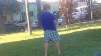 El chico de 7 años se puso a llorar cuando lo discriminaron en Córdoba.