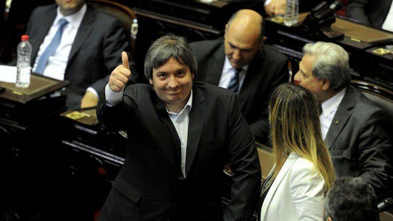 Máximo negó que la plata de López sea de Cristina