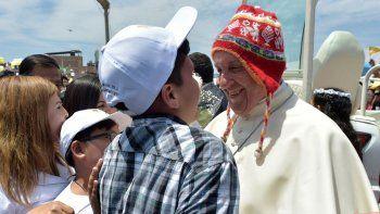 El Papa hoy se despedirá de Perú con una misa en Lima y volverá a Roma.