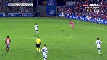 Mirá un gol de otra cancha: le pegó desde 70 metros