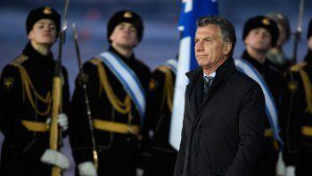 El presidente argentino iniciará hoy su actividad oficial en Moscú.