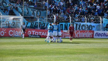 En 2017 Belgrano jugó ante Defensores de Villa Ramallo.