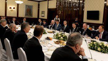 macri destaco el potencial de argentina ante empresarios