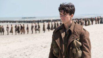Estrenada en julio del 2017, Dunkerque, de Christopher Nolan, puede tener un reestreno por cosechar ocho nominaciones.