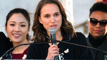 Natalie Portman dijo que fue víctima de terrorismo sexual.