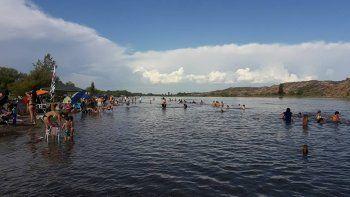 El sector de La Balsa es concurrido por muchos bañistas.