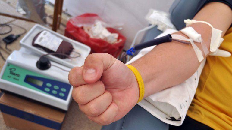 La sangre es para reponer stock en el Centro de Hemoterapia.