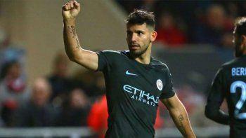 El delantero no para de romper redes para el Manchester City.