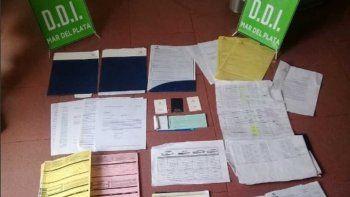 La Policía allanó su casa y encontró todos los papeles de las ventas.