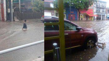 Un muerto y 350 evacuados por una torrencial lluvia