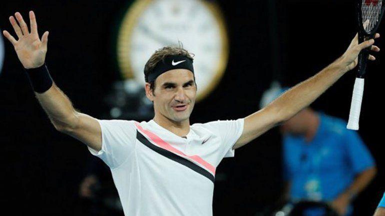 Federer avanzó a una nueva final de Grand Slam y van...