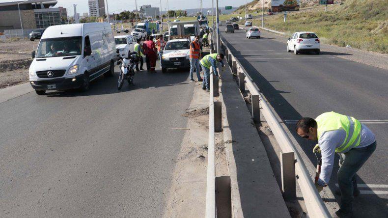 De todo: juntaron 20 toneladas de basura a la vera de la Ruta 7