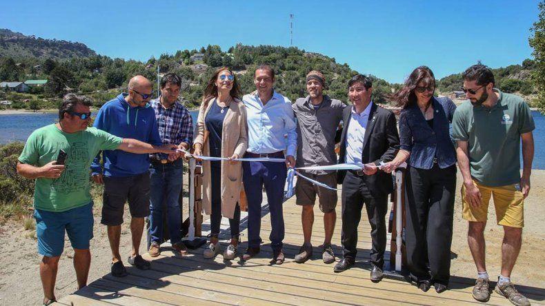 Con anuncios de obras, Villa Pehuenia festejó su aniversario