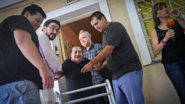 Los familiares de las personas que estaban en el geriátrico fueron quienes denunciaron los maltratos.