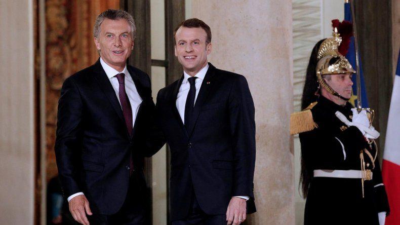 A Macron le preocupan temas agrícolas y los vinculados con la carne.