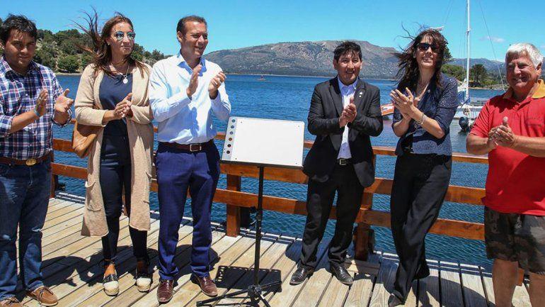 El gobernador Gutiérrez encabezó las actividades por el aniversario.